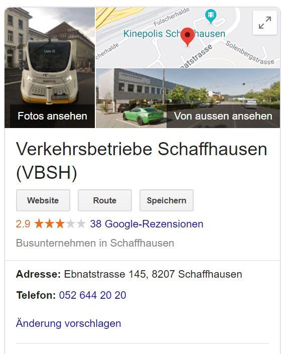 google vbsh